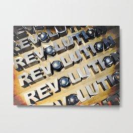 Patriotic American Revolution Metal Print