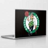 nba Laptop & iPad Skins featuring NBA - Celtics by Katieb1013