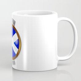 Scottish Proud Flag Button Coffee Mug