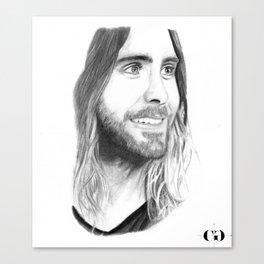 Jared Leto Canvas Print