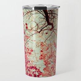 Autumn Inkblot Travel Mug