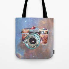 SPACE CAN0N Tote Bag