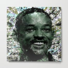 WILL SMITH Metal Print