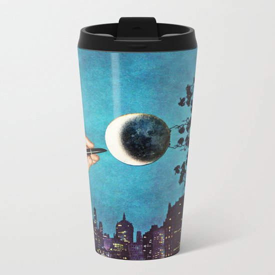 Finishing Touches Metal Travel Mug