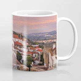 Obidos, dusk Coffee Mug