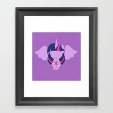 Twilight Sparkle - Alicorn Framed Art Print