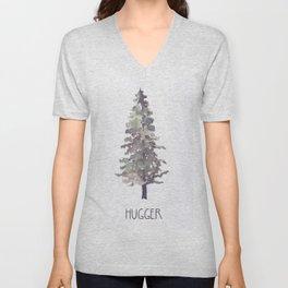 Tree Hugger II Unisex V-Neck