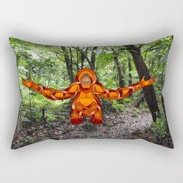 Orangutan Knot Rectangular Pillow