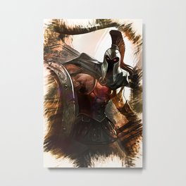 League of Legends PANTHEON Metal Print