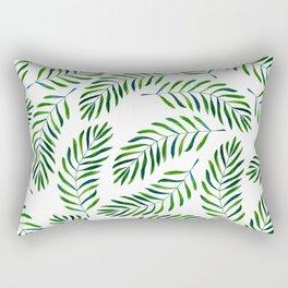 Palm palette Rectangular Pillow