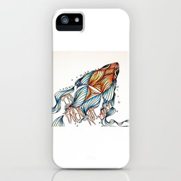 Ika - friend not food iPhone Case