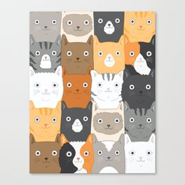 Herded Cats Canvas Print