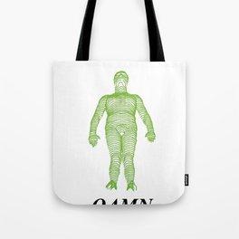 GREEN LINE Tote Bag