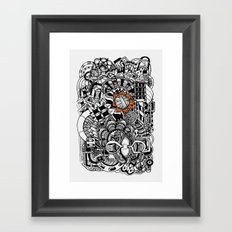 Ovillo Framed Art Print