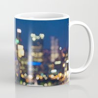 pittsburgh Mugs featuring Pittsburgh by Cody Rayn