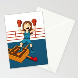 Diseñadora vs Illustrator Stationery Cards