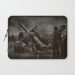 British Heavy Gun Laptop Sleeve