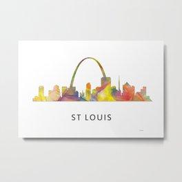 St Louis Missouri Skyline WB1 Metal Print