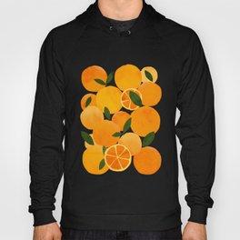 mediterranean oranges still life  Hoody