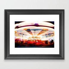 Go Round Framed Art Print