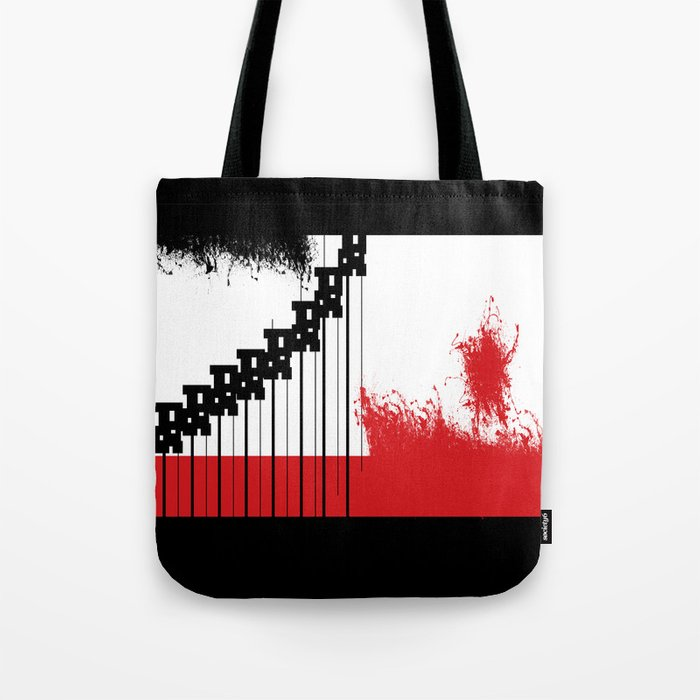 AEND ?! ( the world we live in) Tote Bag