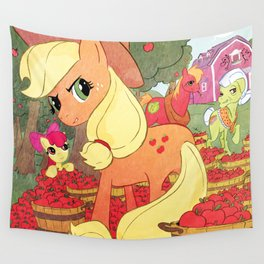 Applejack and Family Wall Tapestry