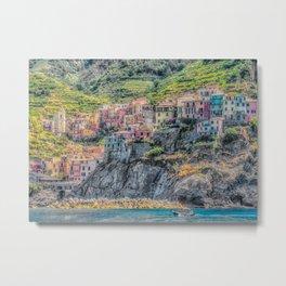 Italy Seaside Architecture Metal Print
