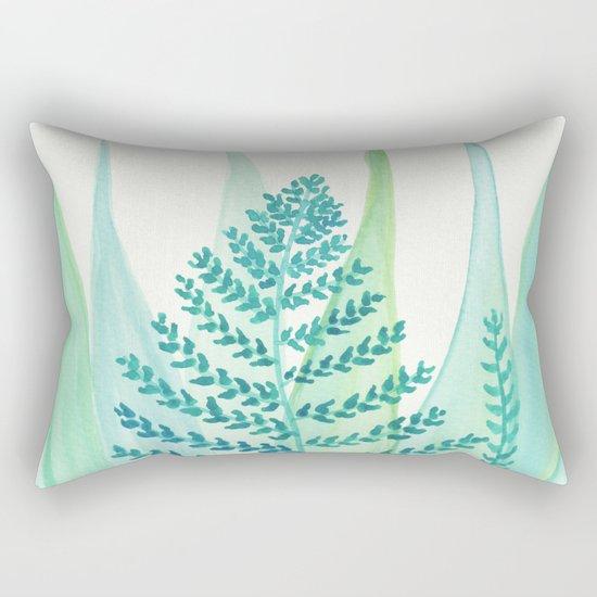 Botanical vibes 05 Rectangular Pillow