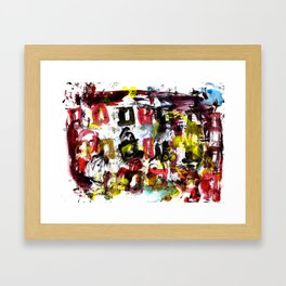 The Street Party 5  Framed Art Print