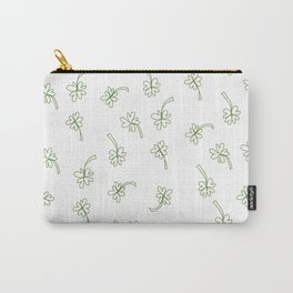 Lucky You Clover Carry-All Pouch