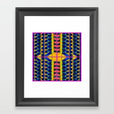 Palace Flat Framed Art Print