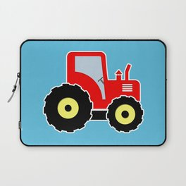 Red toy tractor Laptop Sleeve