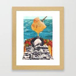 HOW TO MICROWAVE NACHOS Framed Art Print