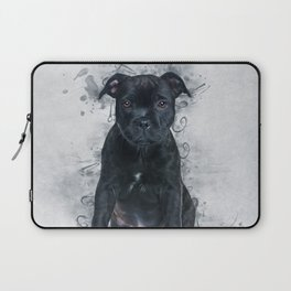 Staffordshire Bull Terrier Laptop Sleeve