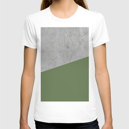 Concrete and Kale Color T-shirt