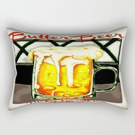 Butter Beer...and you'll be okay Rectangular Pillow