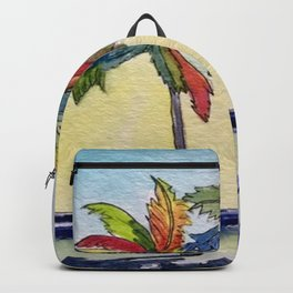"""""""Fruit Loop Palms"""" Backpack"""