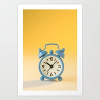 watch Art Prints featuring watch by laika in cosmos