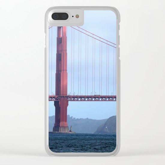 Golden Gate Clear iPhone Case