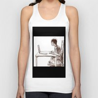 gamer Tank Tops featuring Gamer by Jonas Ericson