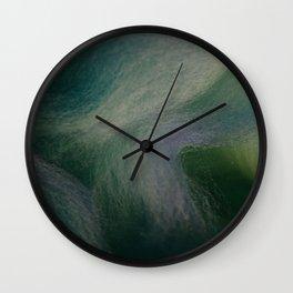 Fiber Ocean Wall Clock