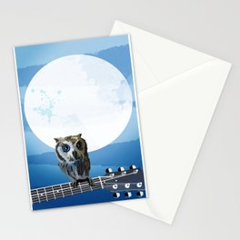 Night Songs Stationery Cards