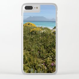 southafrica ... table mountain 02 Clear iPhone Case