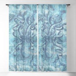 Octopus Sheer Curtain