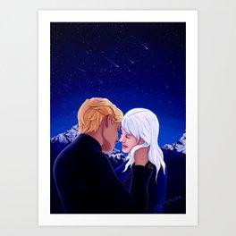 I love it when you quote me - Nikolai Lantsov Art Print