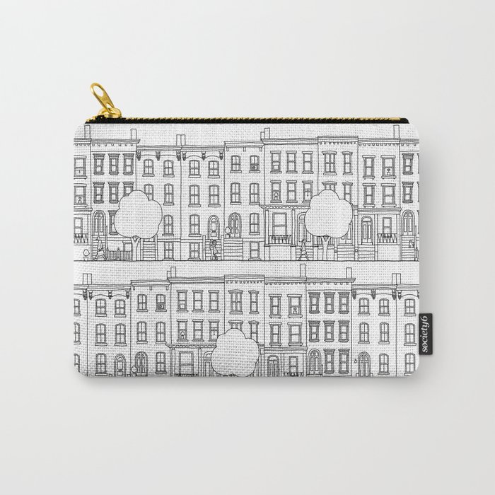 blocks of Brooklyn Carry-All Pouch