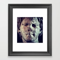 Facemelt Framed Art Print