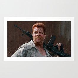 Sergeant Abraham Ford - The Walking Dead Art Print