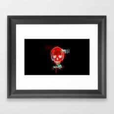 cool_skull Framed Art Print