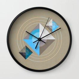 Minimalism / Geometric 4 Wall Clock